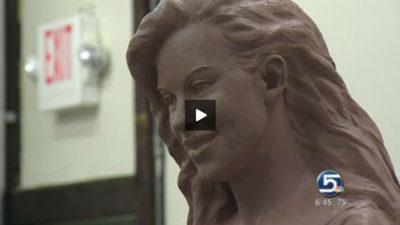 KSL TV News | Family healing through sculpture