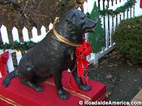 RoadsideAmerica.com | Bosco the Dog Mayor