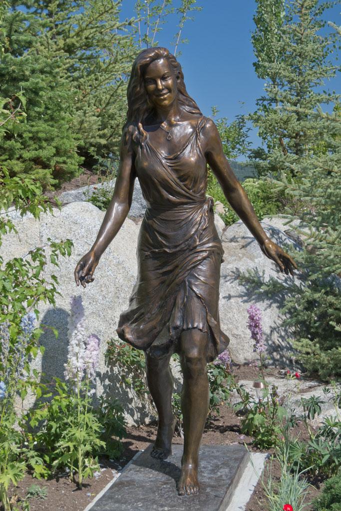 Kelly Brennan Custom Life-size Custom Bronze Portrait