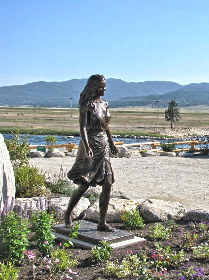 Kelly custom bronze Portrait Statue Monument by Lena Toritch