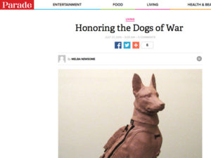 Parade Article | Honoring The Dogs of War