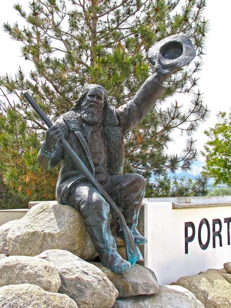 Porter Rockwell Heroic-size Custom Bronze Statue Monument.Young Fine Art Studio