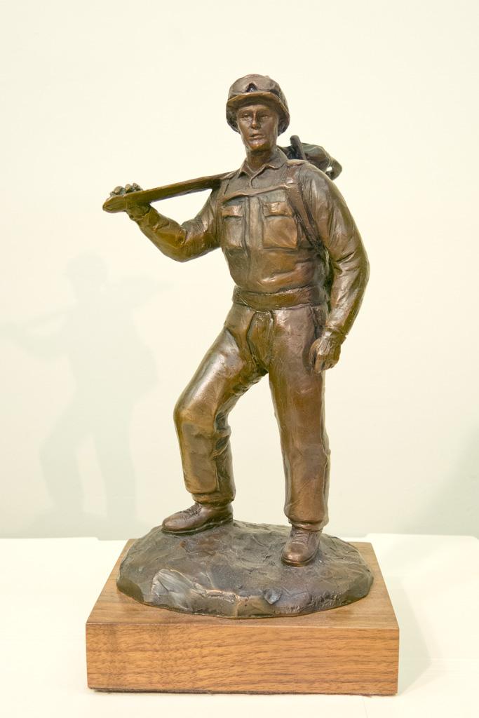 Firefighter Bronze Statue