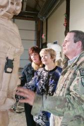 Sgt. Dan Brown Statue on KSL TV Channel 5 News