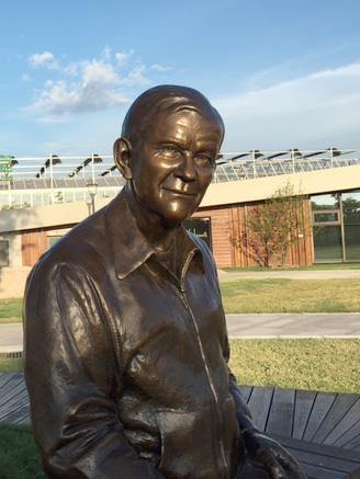 Carl Rehnborg Bronze Portrait in China