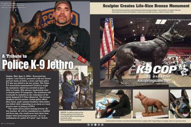 K9 Jethro | K-9 Cop Magazine Article