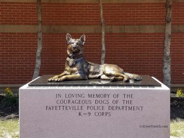 Fayetteville Police K9 Memorial