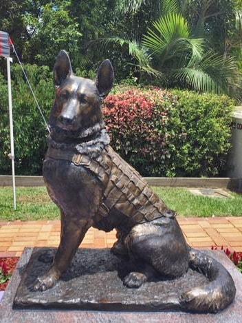 K9 Soldier Bronze Dogs Queensland Australia